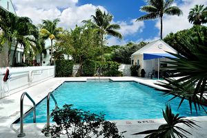 Key West vacation rental with pool
