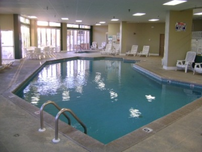 Indoor Pool at Towers
