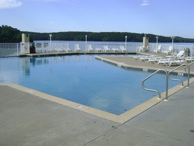 Outdoor Pool at Towers