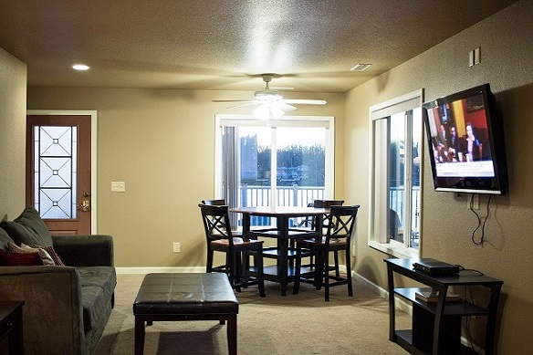 Downstairs Dining/Living Room