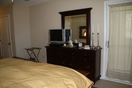Master Bedroom (TV with DVD player only)
