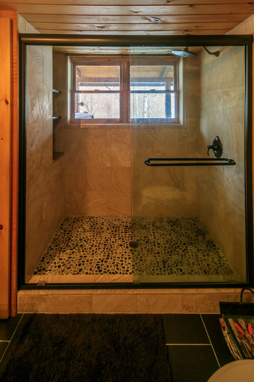 Main Floor Bathroom- Tiled Shower