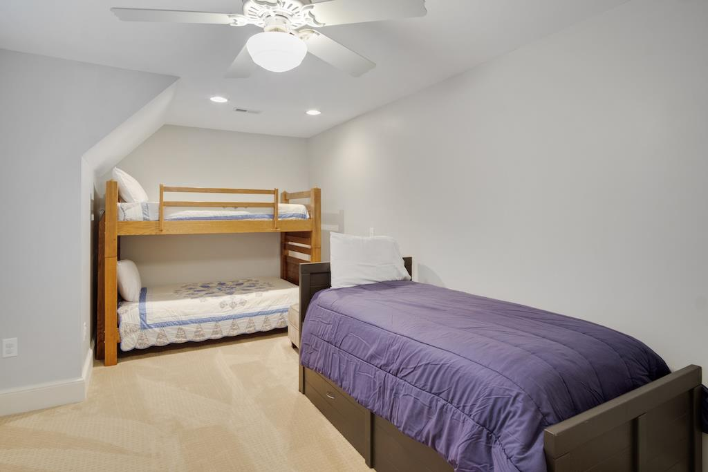 Guest Bedroom-Upstairs- Bunk beds & Twin Trundle
