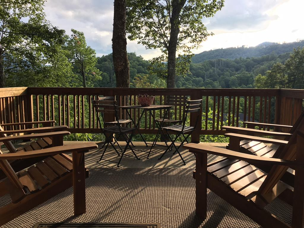 Deck Furniture and Mountain View