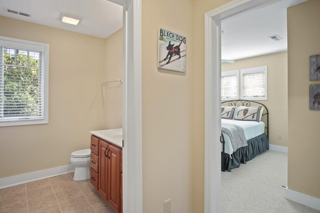 Entry into Guest Bedroom and Bathroom