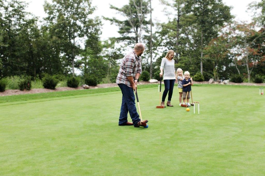 Croquet & Putting Green - Chalakee