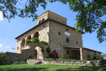Villa Falco Nero is a private historical villa with striking