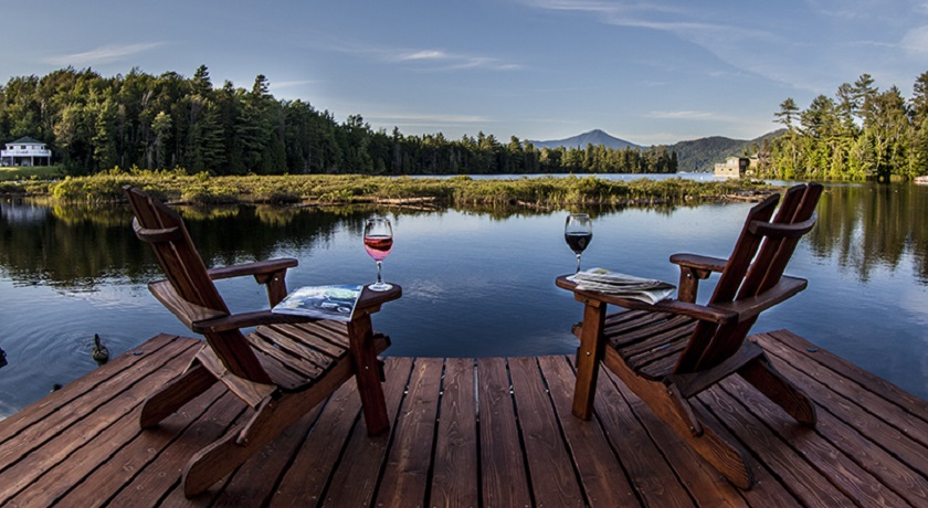 Relax by the Lake w/View of Whiteface