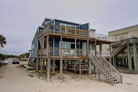 Ocean Side of House