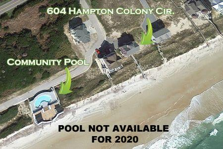 Aerial Photo with Community Pool