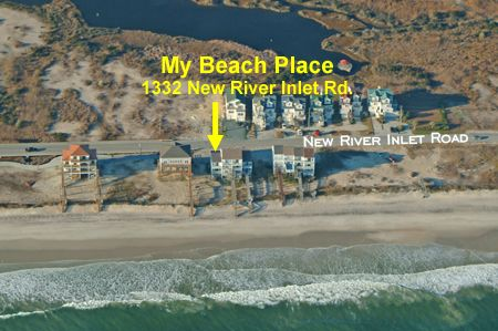 Aerial View of My Beach Place
