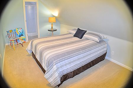 Top level Bedroom with Queen Bed