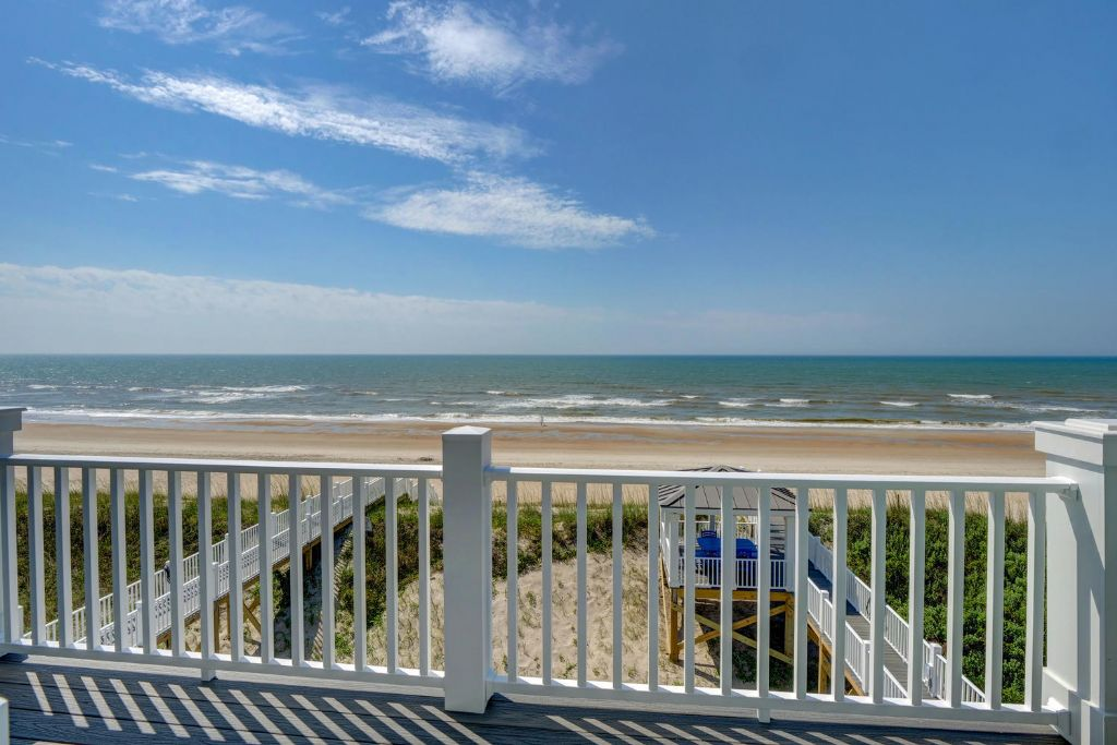 Top Level Oceanfront View from Master Suite