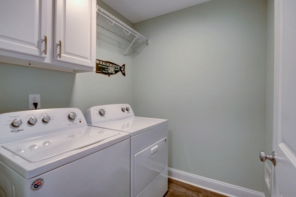 Lower Level Walk-In Laundry Room