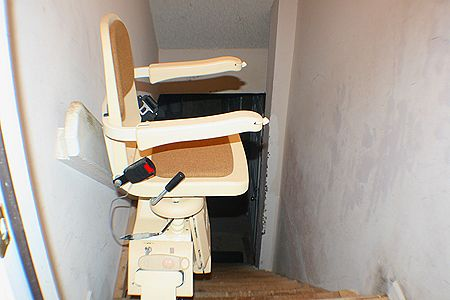 Chair Lift from Garage to Main Living Area