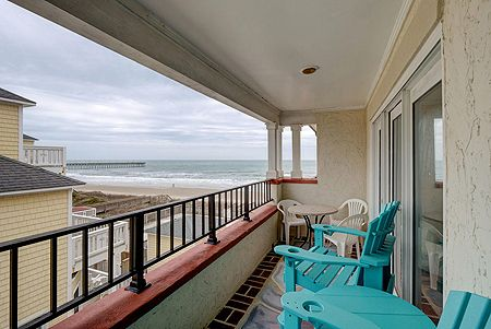 Oceanside Balcony - Access from Master & Living