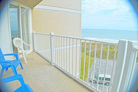 Balcony off of living area