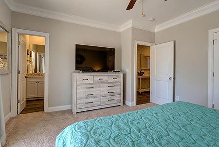 1st Level Master Bedroom - Additional View