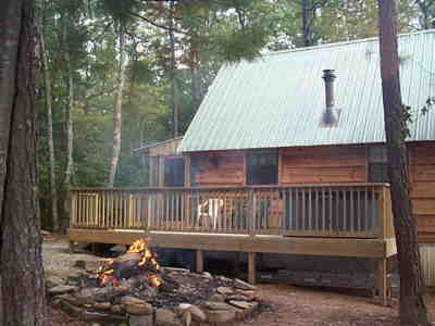 Cupid S Cove Log Cabin 1 Bedroom Vacation Cabin Rental