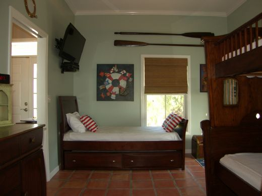 Bedroom 1 - Twin Bed & Trundle