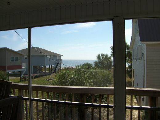 View from Screened Deck on Main Floor