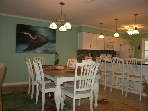 Dining & Bar Seating Area