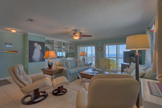 Gulf Front Living Area