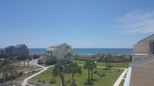 View of the Gulf in Close Distance from Property
