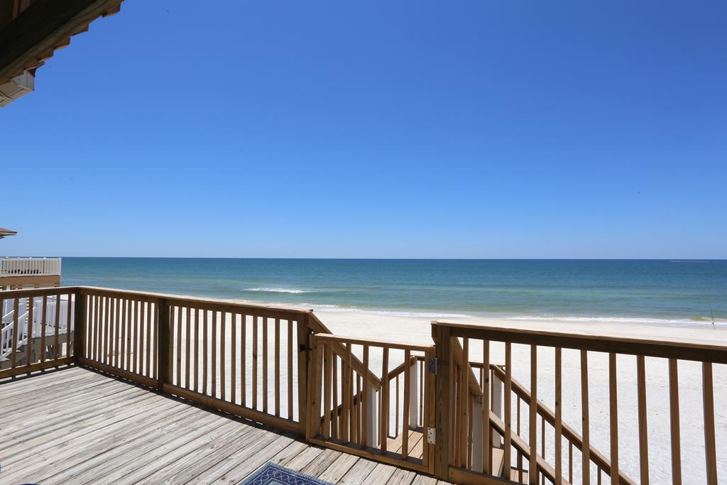 Beach Access from Gulf Front Deck