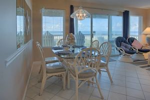 Gulf Front Dining Area