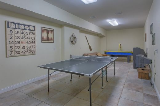 Game Room on Ground Level