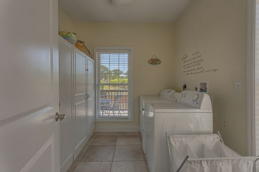 Laundry Room in Kitchen Area