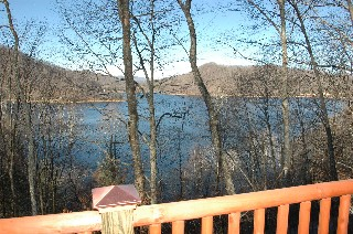 view off of the deck