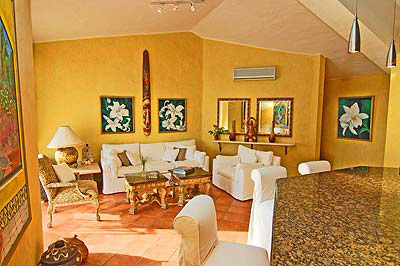 The Living Room Is Spacious, Elegant And Very Comfortable.