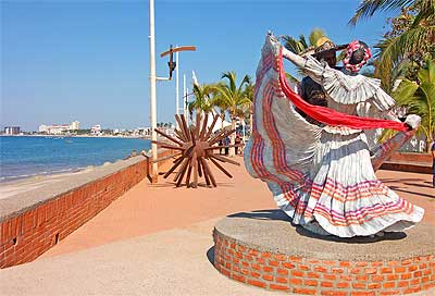 Statues And Artwork By Local Artists Delight Everybody.