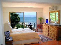 Our 2nd Bedroom And Balcony Overlooks The Beach And Ocean.