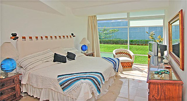 The 2nd And 3rd Bedroom Open To Garden And Ocean Views