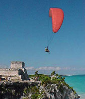 A Lucky Photo At Tulum