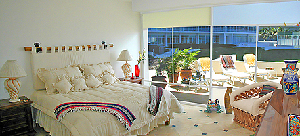 The Master Bedroom Is Spacious And Elegant