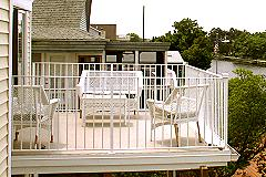Private Deck for Queen Master Bedroom
