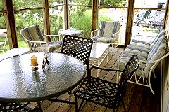 Screened Porch for Relaxing/Dining