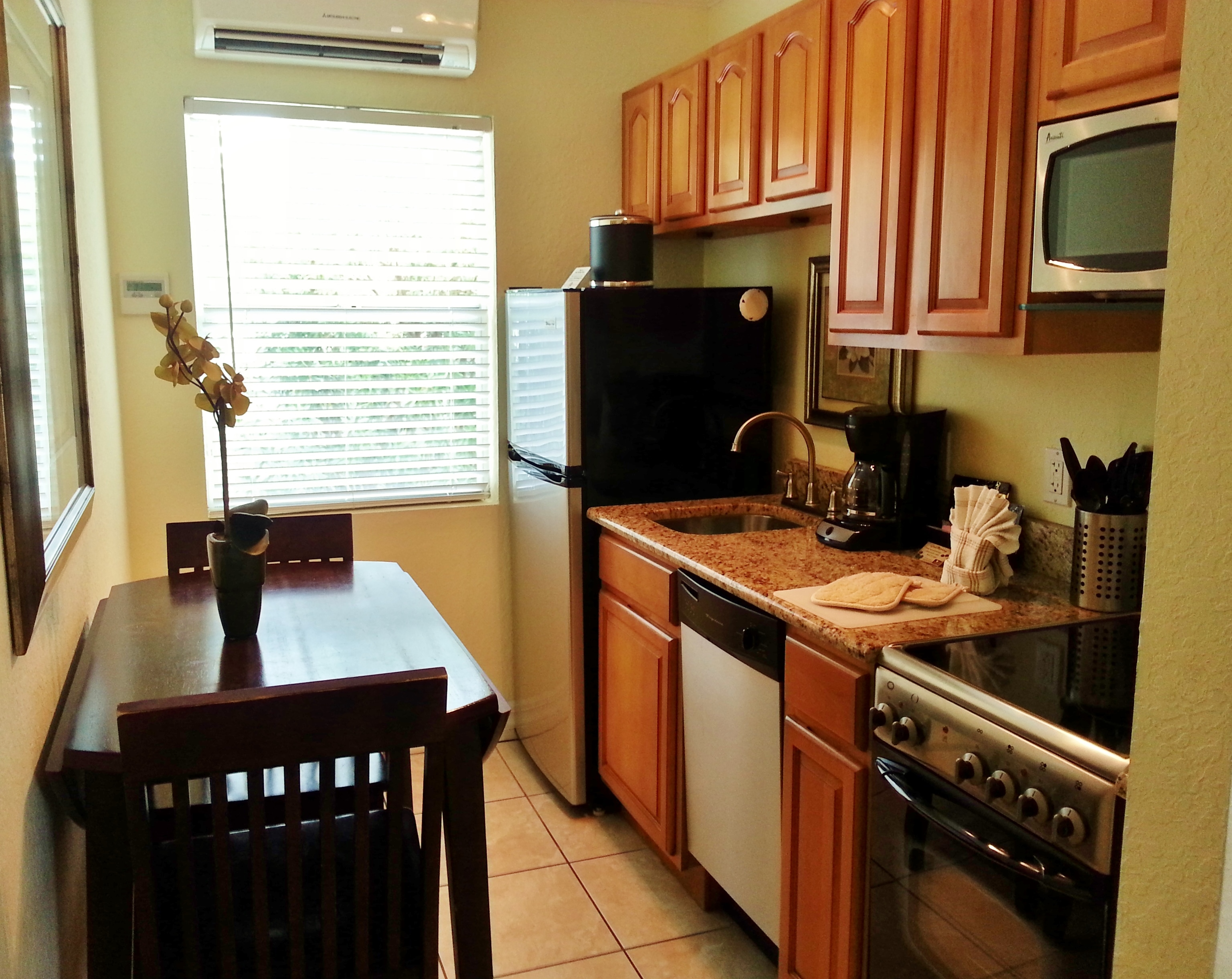 Fully equipped kitchens for your convenience