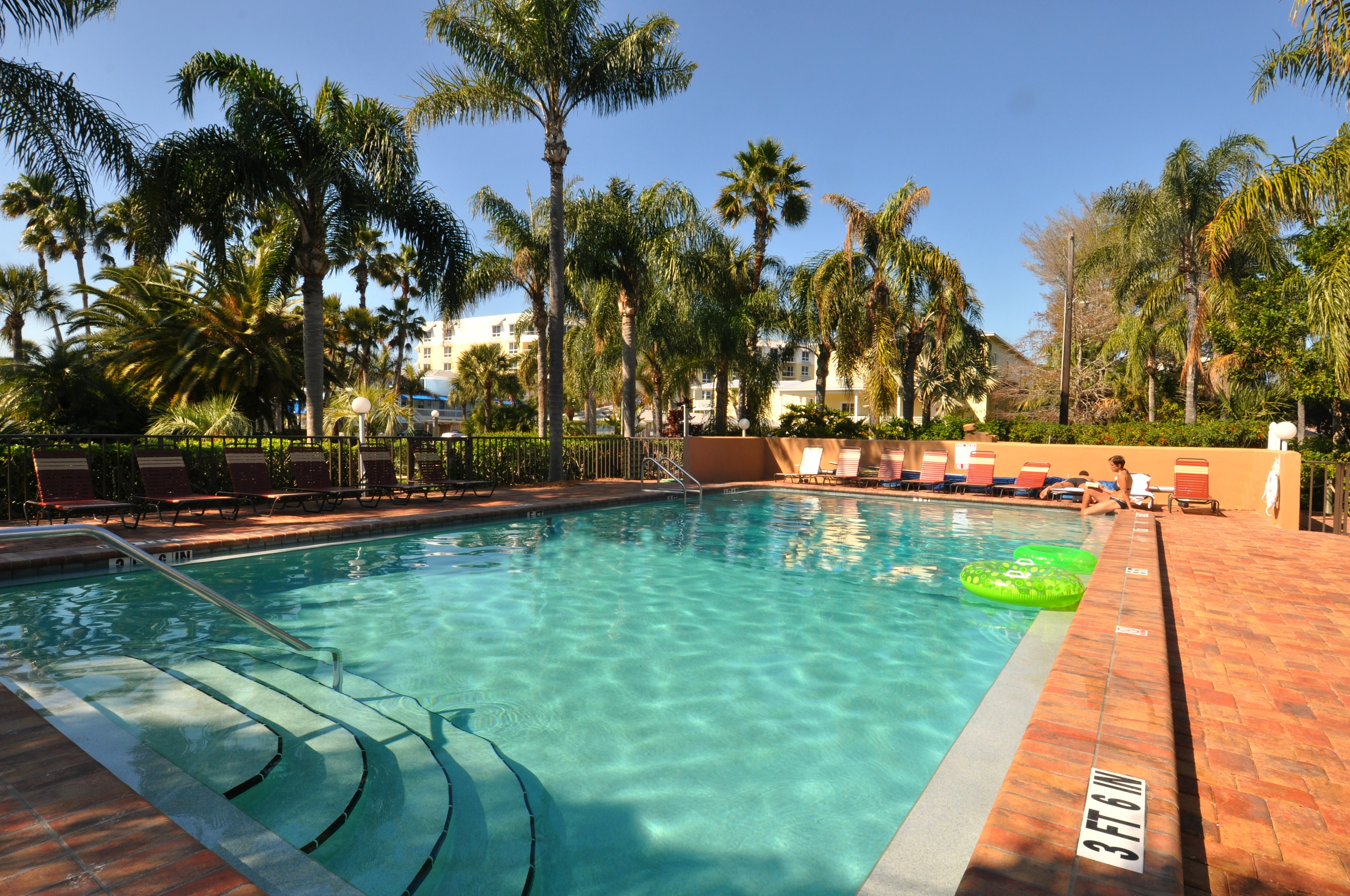 Relax by one of our two pools!