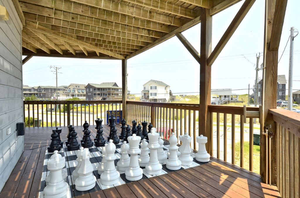 Life-Size Chess/Checkerboard Set