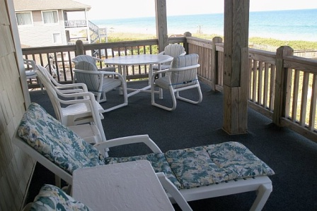 Northwind Condo Deck with Ocean View