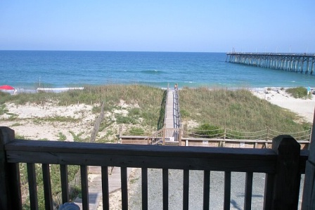 View of the ocean from Northwind Condo