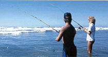 HAPPI OURS - BEACH HOUSE - FISHING