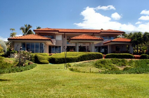 Exquisite 11,000 square foot estate on Ka'anapali Beach.