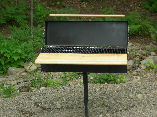 Char griller and Searing gas stove