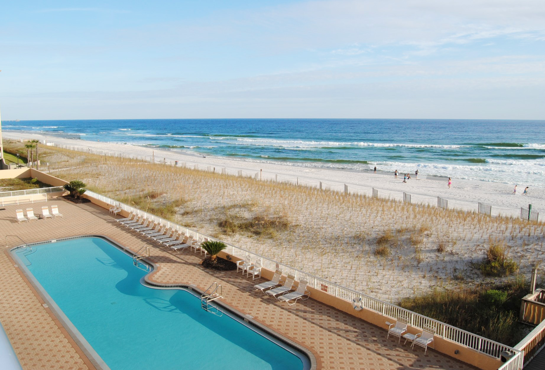 Balcony - Islander Beach 4009 Fort Walton Beach Okaloosa Island Vacation Rentals